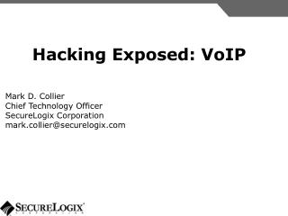 Hacking Exposed: VoIP