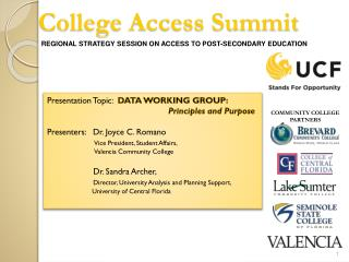 College Access Summit