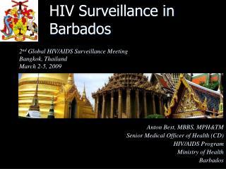 HIV Surveillance in  Barbados