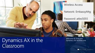 Dynamics AX in the Classroom