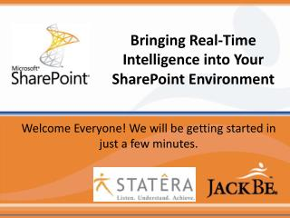 Bringing Real-Time Intelligence into Your SharePoint Environment