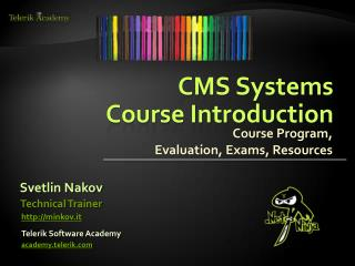 CMS Systems  Course Introduction