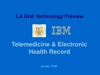 Telemedicine & Electronic Health Record
