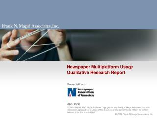 Newspaper Multiplatform  Usage Qualitative Research Report
