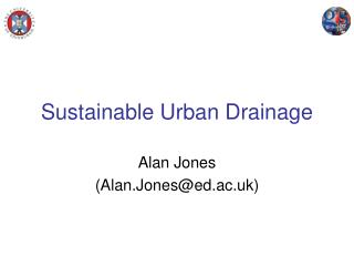 Sustainable Urban Drainage