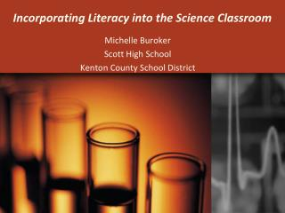 Incorporating Literacy into the Science Classroom