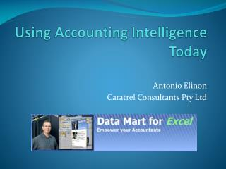 Using Accounting Intelligence Today