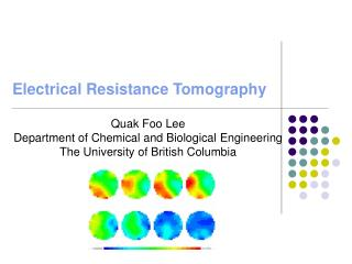 Electrical Resistance Tomography