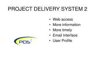 PROJECT DELIVERY SYSTEM 2