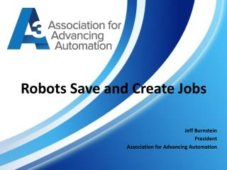 Robots Save and Create Jobs