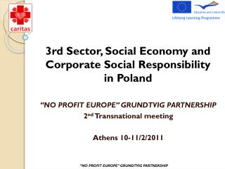 3rd Sector, Social Economy and Corporate SocialResponsibility in Poland