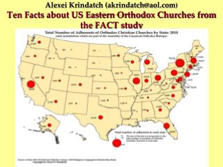 FACT Survey of US Eastern Orthodox Churches
