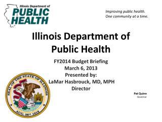 Illinois Department of  Public Health