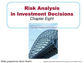 Risk Analysis  in Investment Decisions