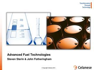 Advanced Fuel Technologies