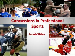 Concussions in Professional  S ports