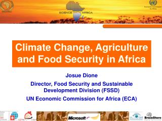 Climate Change, Agriculture and Food Security in Africa