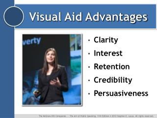 Visual Aid Advantages