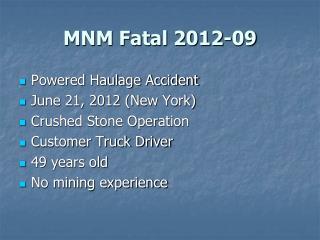 MNM Fatal 2012-09