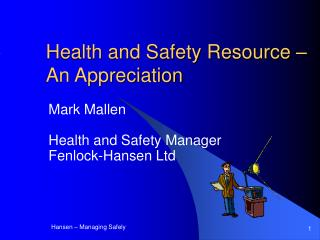 Health and Safety Resource – An Appreciation