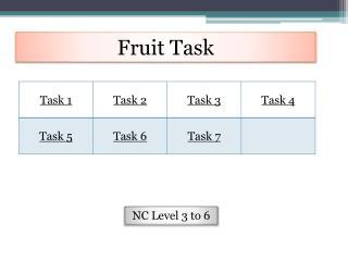 Fruit Task