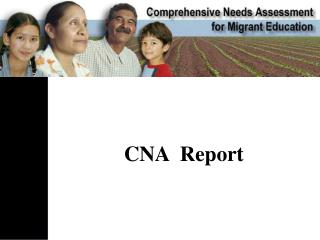 CNA  Report