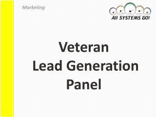 Veteran  Lead Generation Panel