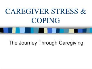CAREGIVER STRESS  COPING