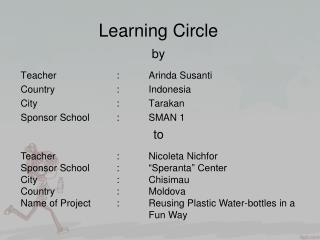 Learning Circle  by
