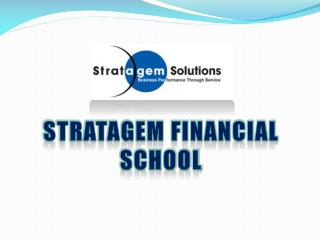 Stratagem financial school