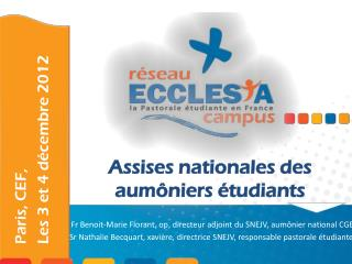 Assises nationales des aumôniers étudiants