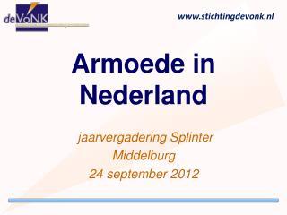 Armoede in Nederland