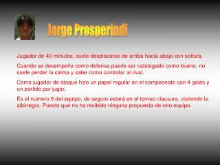 Jorge Prosperindi