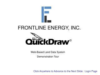 FRONTLINE ENERGY, INC.
