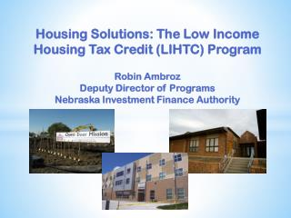 LIHTC Program: The Details
