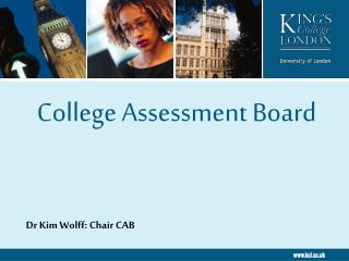 College Assessment Board