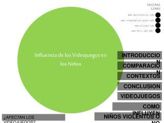 Influencia de los Videojuegos en los Niños