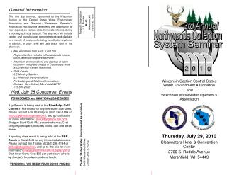 Wisconsin Section Central States Water Environment Association  and