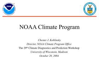 NOAA Climate Program