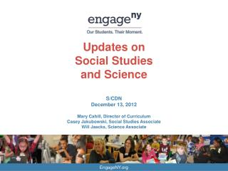Updates on  Social Studies and Science