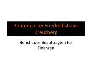 Piratenpartei Friedrichshain-Kreuzberg