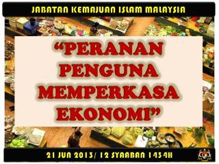 JABATAN KEMAJUAN ISLAM MALAYSIA