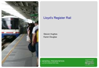 Lloyd�s Register Rail
