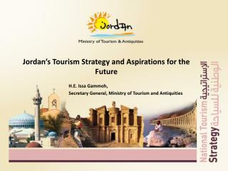 Jordan's Tourism Strategy and Aspirations for the Future