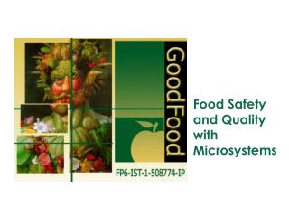 Food Safety and Quality with Microsystems