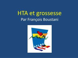 HTA et grossesse Par François Boustani