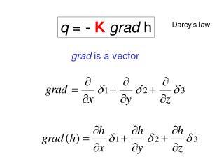 grad  is a vector