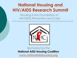 National Housing and HIV/AIDS Research Summit
