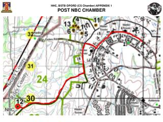 HHC, BSTB OPORD (CS Chamber) APPENDIX 1 POST NBC CHAMBER