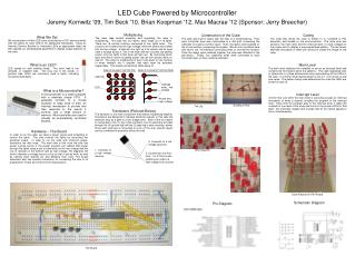 LED Cube Powered by Microcontroller